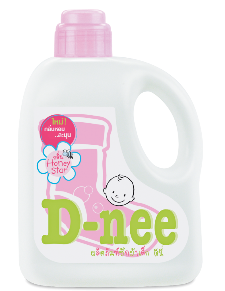 D-Nee Liquid Detergent Jug 960mL - Honey Star