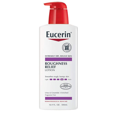 Eucerin Roughness Relief Lotion - Full Body Lotion for Extremely Dry, Rough Skin - 16.9 fl. oz.