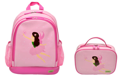 Bobble Art Bundle of Small Backpack and Small Lunch Bag - Fairy