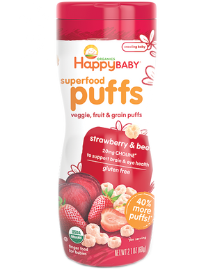 Happy Puffs - Strawberry & Beet