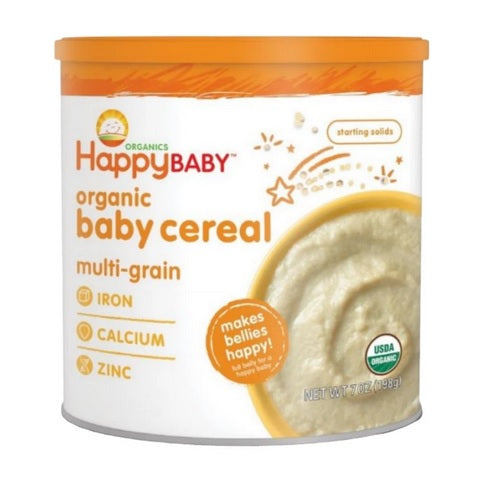 Happy Baby Organic Baby Cereal - Multigrain 198 g
