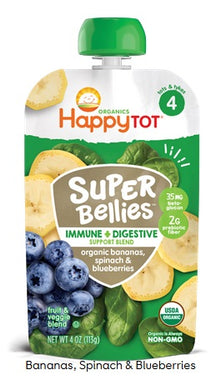 Happy Tot Stage 4 Super Bellies Organic Bananas, Spinach and Blueberries
