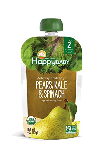 Happy Baby Clearly Crafted Pear, Kale and Spinach