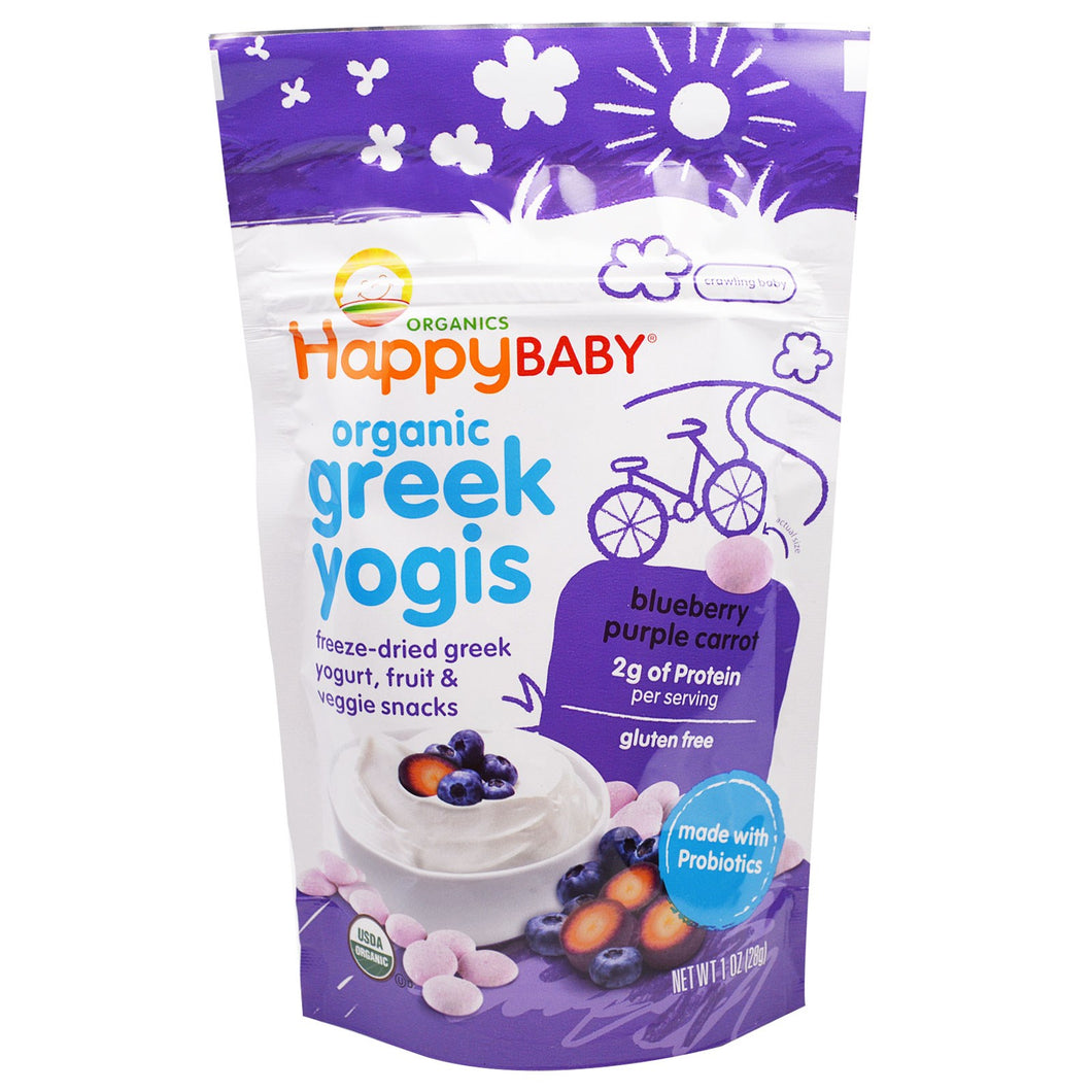 Happy Baby Greek Yogis - Blueberry Purple Carrot