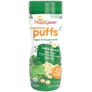 Happy Puffs - Kale and Spinach