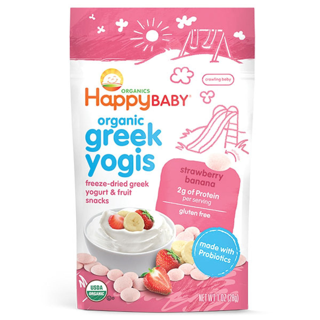 Happy Greek Yogis - Strawberry Banana