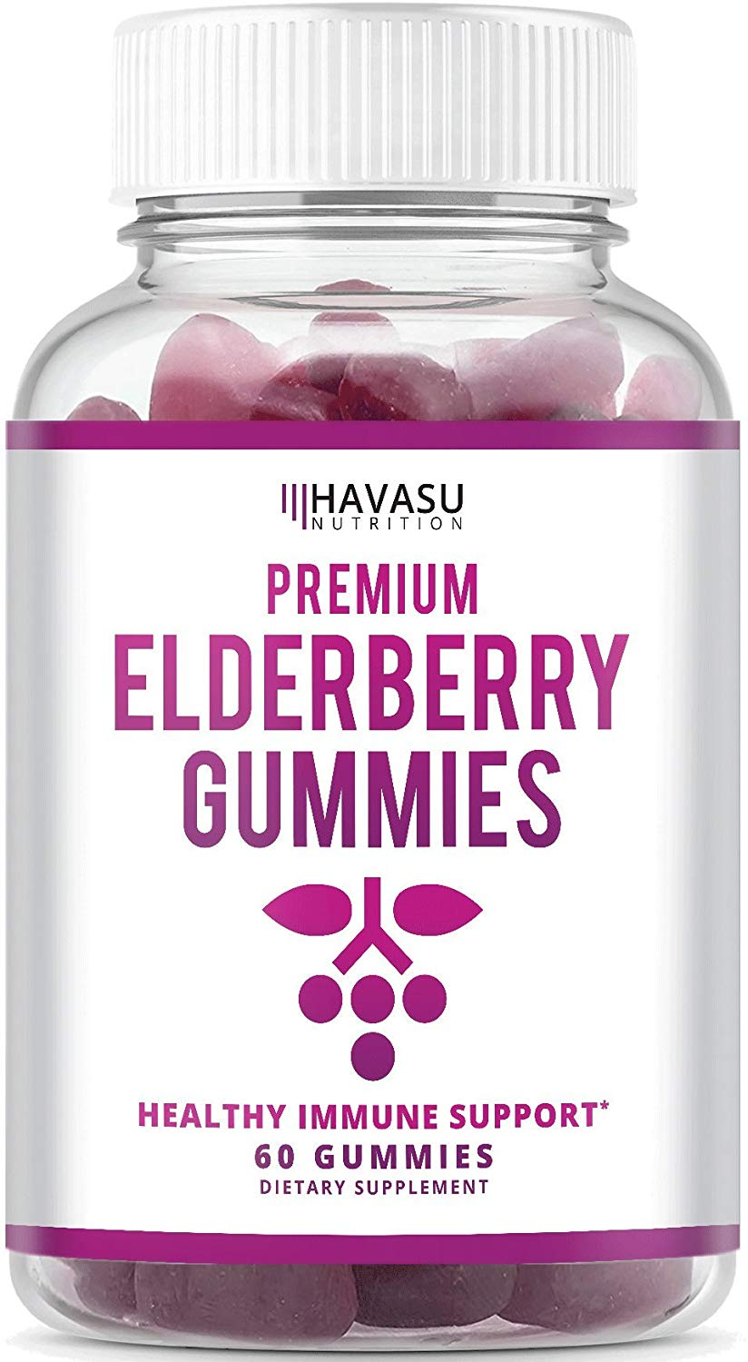 Havasu Nutrition Elderberry Gummies 100mg - 60 Gummies