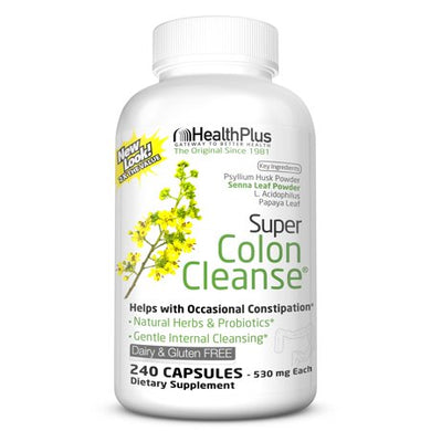 Health Plus Super Colon Cleanse 240 capsules