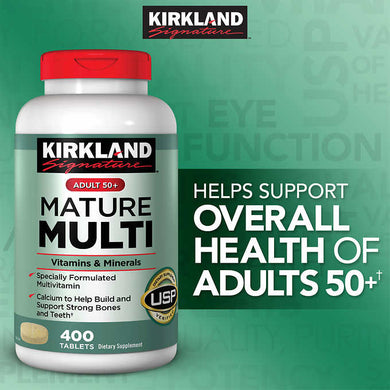 Kirkland Mature Multi 400 tablets