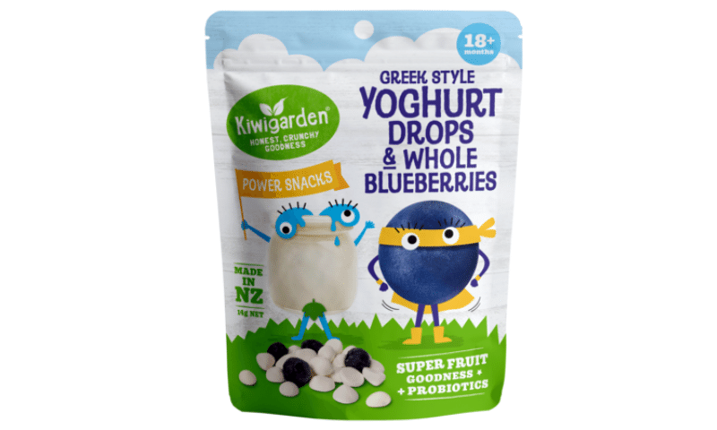 Kiwigarden Yoghurt Drops and Whole Blueberries 14 g