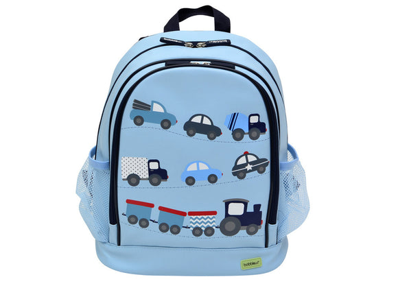 Bobble Art Large Backpack - Cars
