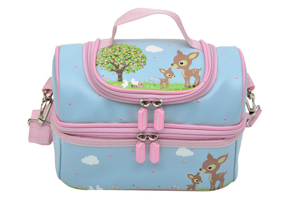 Bobble Art Large Lunch Bag - Woodland Animals