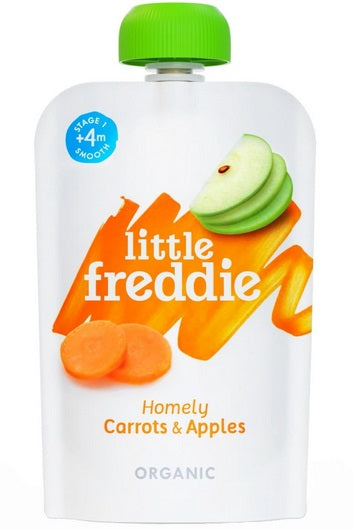 Little Freddie Homely Carrots and Apples