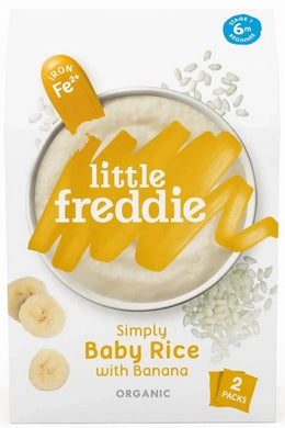 Little Freddie Simply Baby Rice with Banana (2x80g)