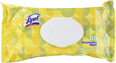 Lysol Disinfecting Wipes 80s