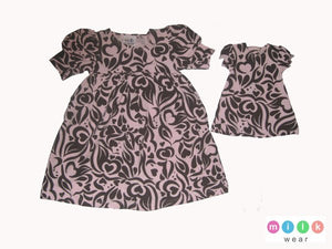 Milk Wear Paisley Print Dress