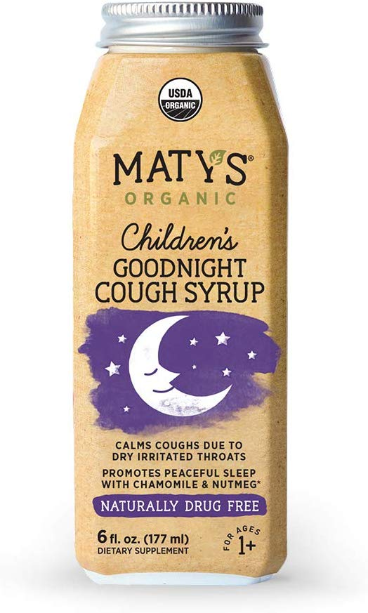 Maty's Organic Children's Goodnight Cough Syrup 6 fl oz