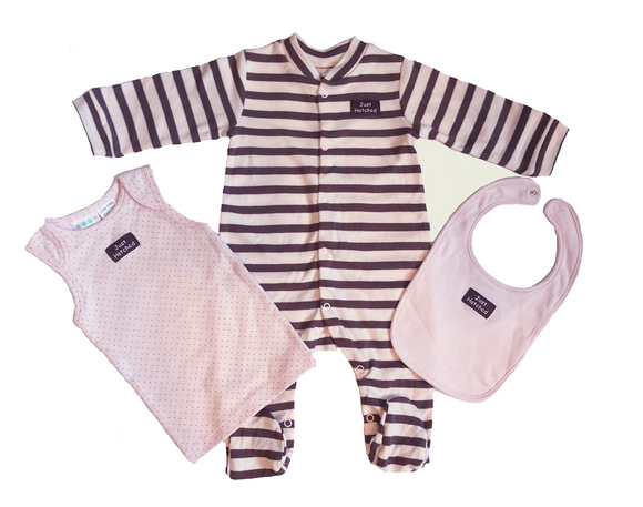 Milk Wear 3-piece Gift Set (Pink)