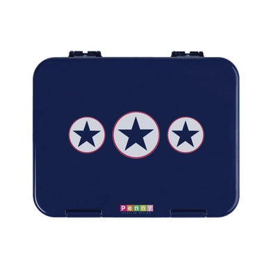 Penny Scallan Bento Box - Navy Star