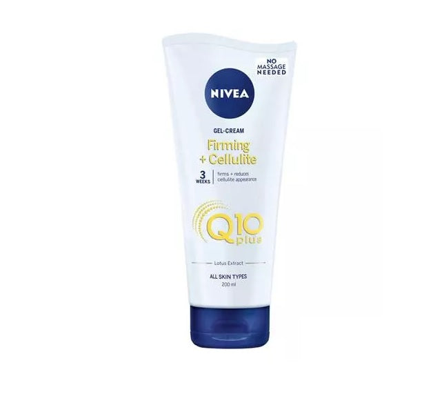 Nivea Body Skin Firming Cellulite Gel-Cream Q10+ 6.7 oz