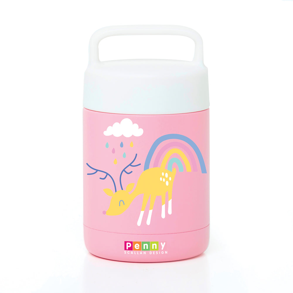 Penny Scallan Thermal Flask Food Jar - Rainbow Days