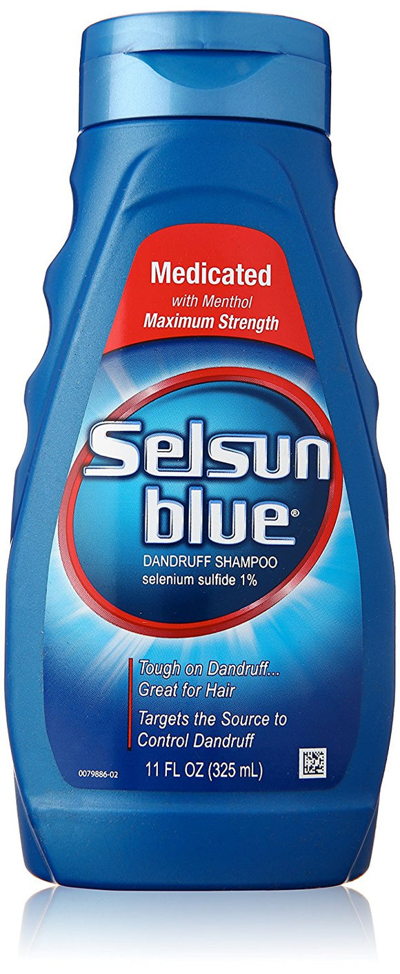 Selsun Blue Medicated Dandruff Shampoo 11 oz