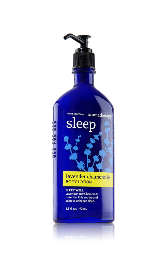 Bath and Body Works Aromatherapy Sleep Lavender Chamomile Body Lotion 6.5 fl. oz.