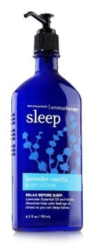 Bath and Body Works Aromatherapy Sleep Lavender Vanilla Body Lotion 6.5 fl. oz.