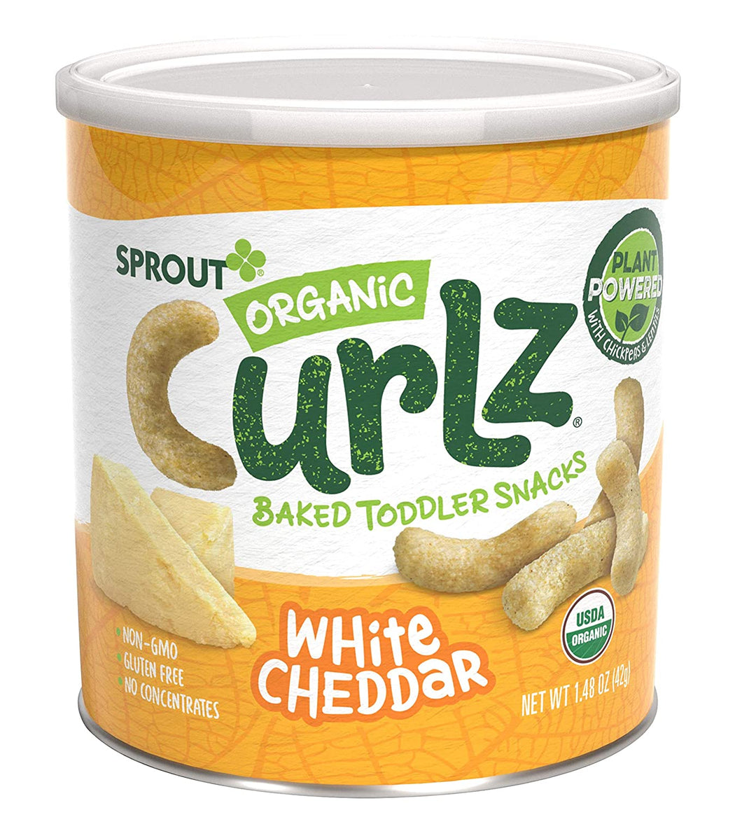 Sprout Curlz - White Cheddar
