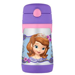 Thermos Stainless Steel Straw Bottle 10 oz - Sofia the First
