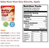 Baby Mum Mum Rice Biscuits