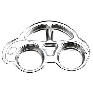Stenlock Stainless Steel Car Dinner Plate