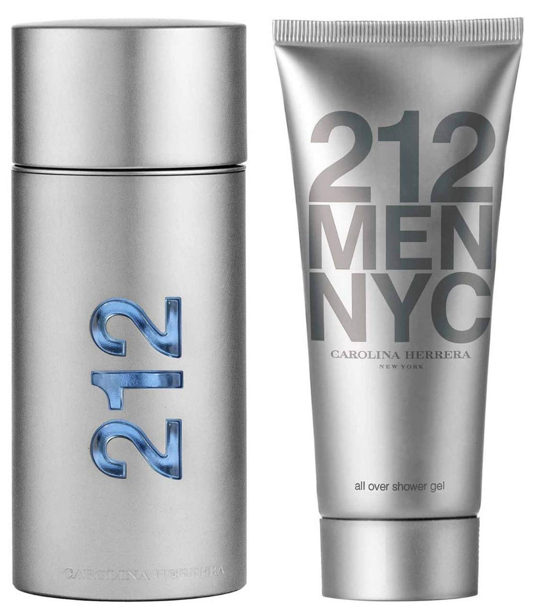 Carolina Herrera 212 Men NYC Eau de Toilette Gift Set for Men