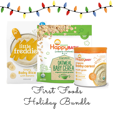 Baby's First Foods Holiday Bundle