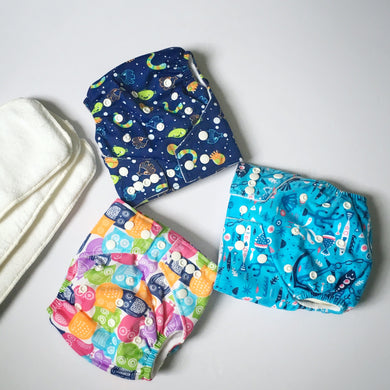Next9 Cloth Diapers - 3pack