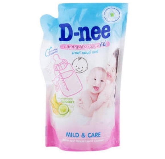 D-Nee Bottle Nipple Cleanser 400mL Refill Pouch