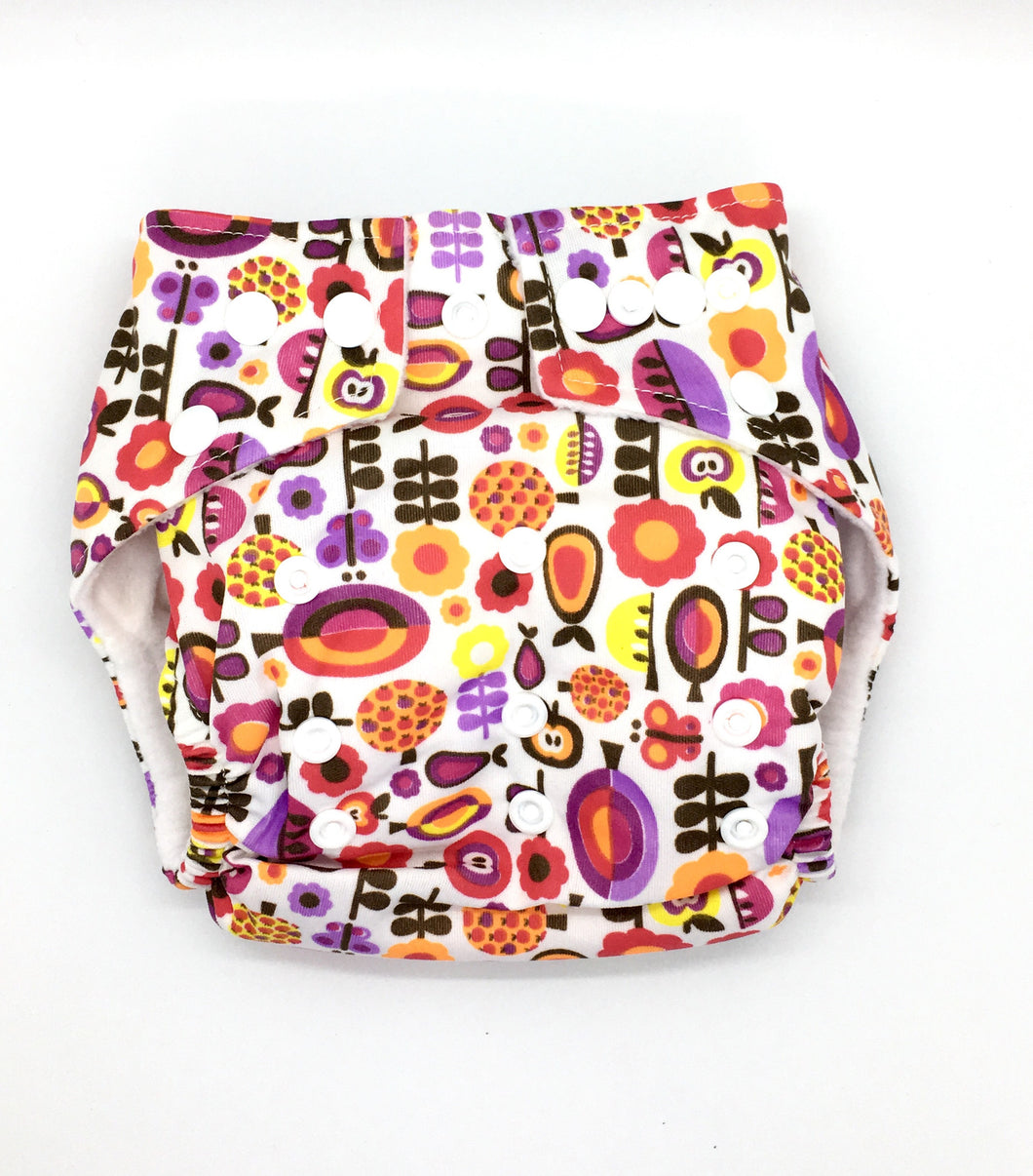 Next9 Cloth Diaper Woodland