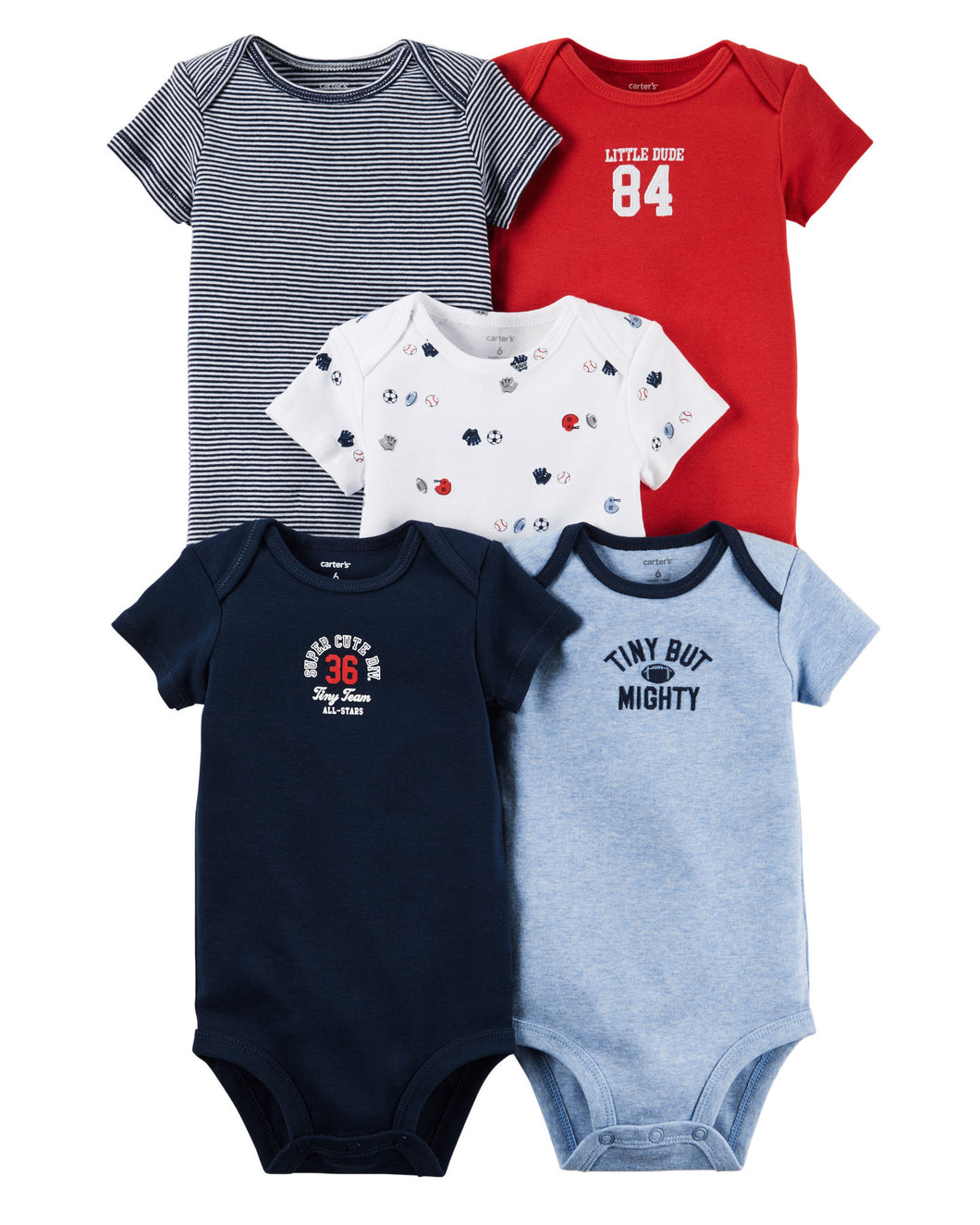 Carters 'Tiny But Naughty' 0-12 mos