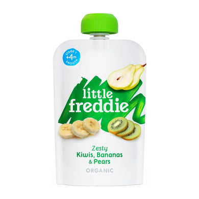 Little Freddie Zesty Kiwis, Bananas and Pears