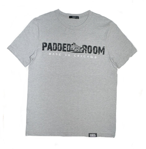 Padded Room OG Logo Grey Tee (Sizes: S, M, L, & XL)