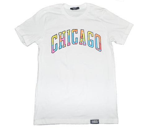 "Padded Room ""Chicago Art Gallery"" Tee in White (Size: XS, S, M, L, XL, XXL, & XXXL)"