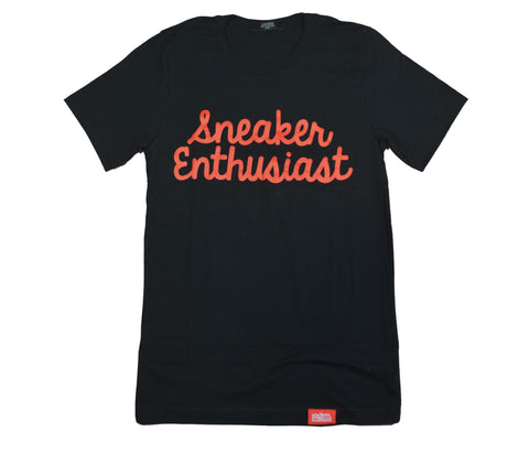 "PDRM Sneaker Enthusiast Tee ""Bred"" (Sizes: X-Small & Small)"