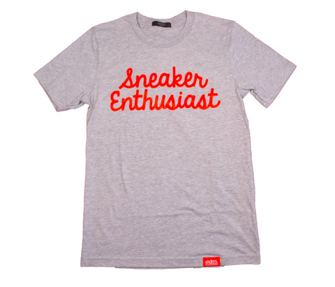PDRM Sneaker Enthusiast Tee (Sizes: XS, S, M, & XL)