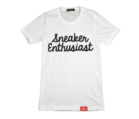 PDRM Sneaker Enthusiast Tee (Sizes: L & XL)