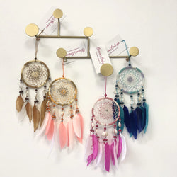 SHELL & FEATHER DREAM CATCHER