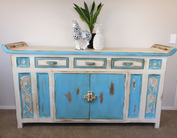 BLOSSOMS - 2 DOOR, 3 DRAWER SIDEBOARD