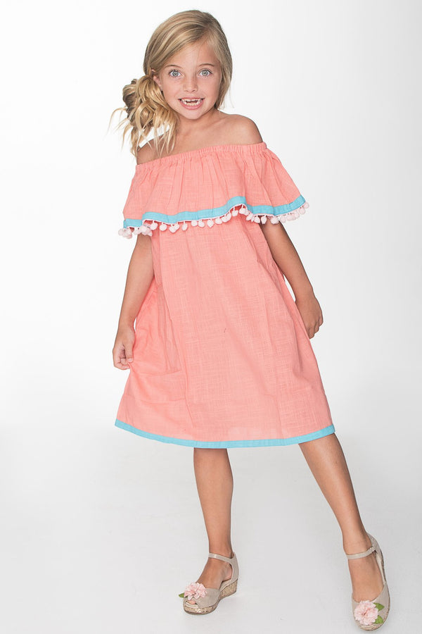 YO BABY - OFF SHOULDER DRESS