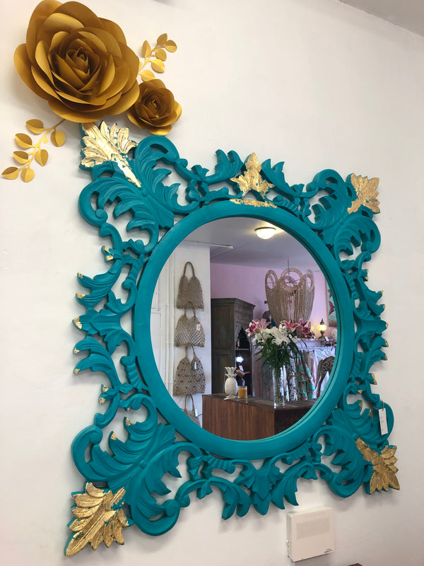 BLUE & GOLD MIRROR
