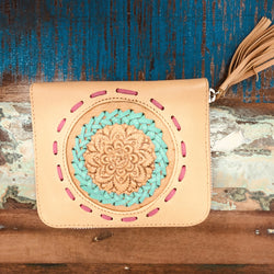 BOHEMIAN DREAMIN' 100% FULL PREMIUM LEATHER SMALL WALLET