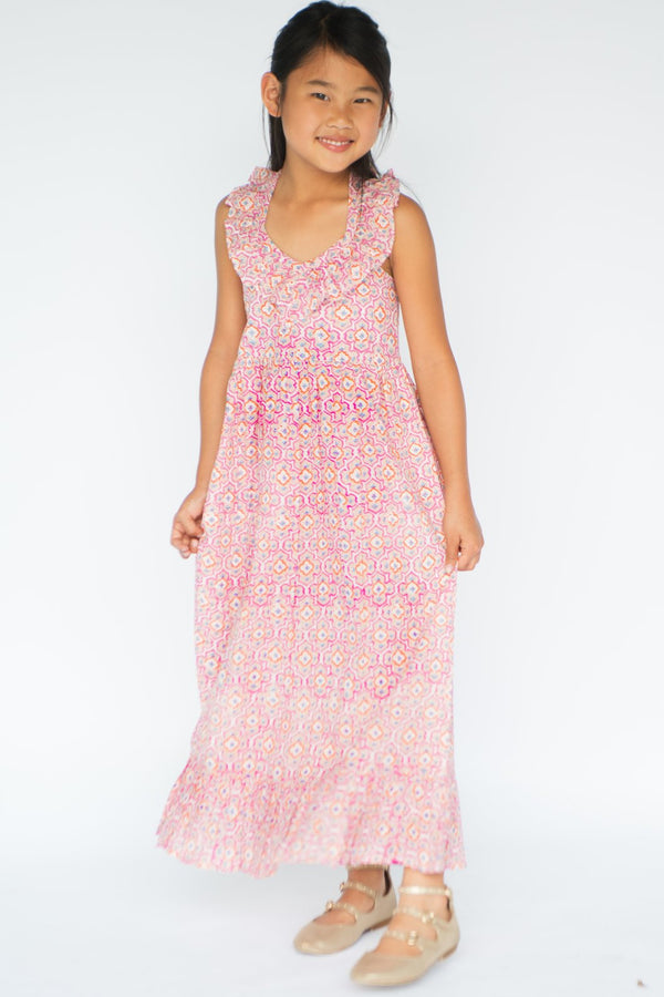YO BABY - HALTER DRESS MAXI